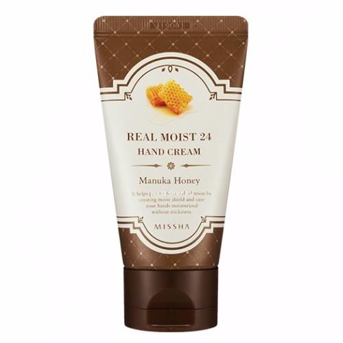 MISSHA Real Moist 24 hand cream [Manuka Honey]